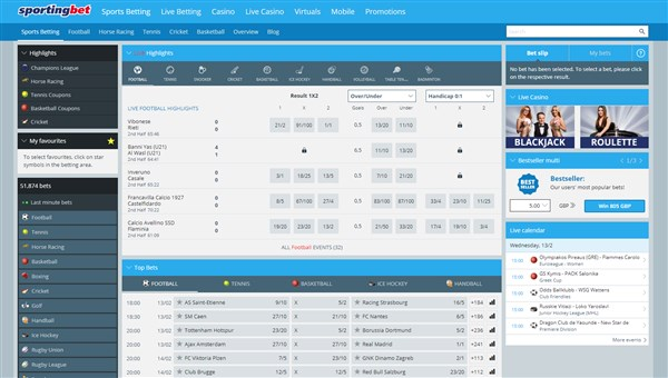 Sportingbet Home