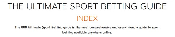 888sport betting guide