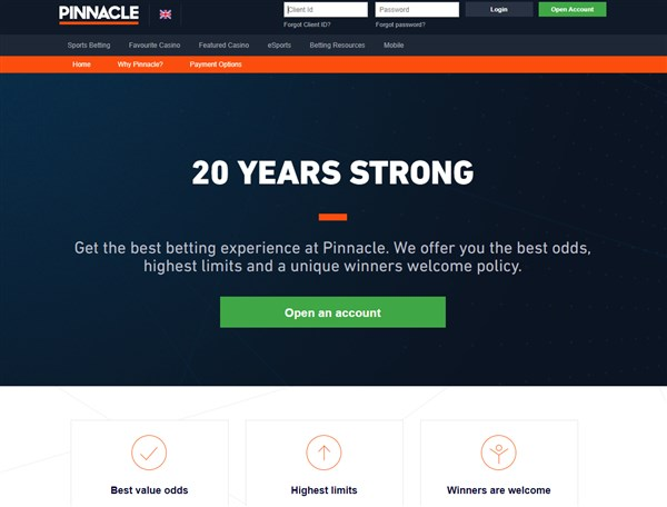 Pinnacle Home Page