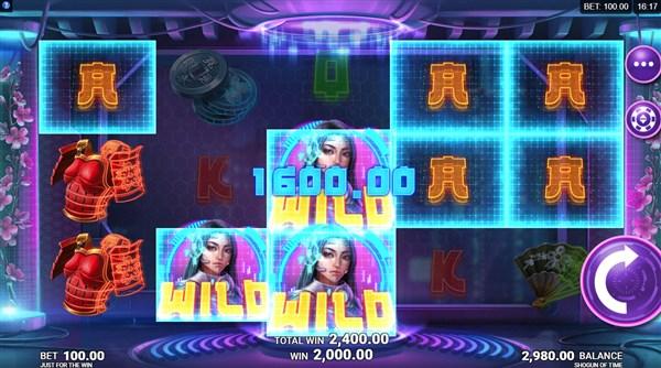 Shogun of Time Slots Win