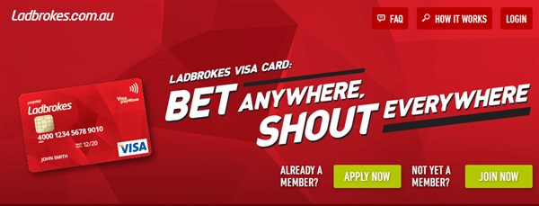 Ladbrokes debit card
