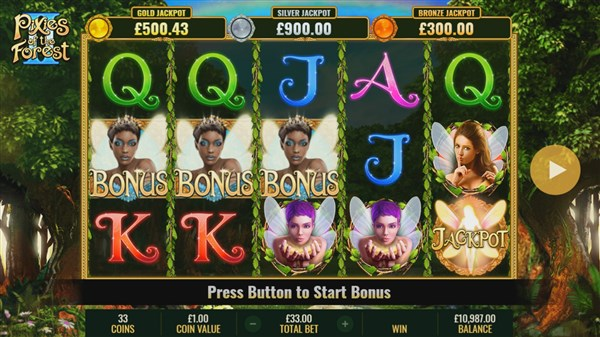 Pixies of the Forest 2 Free Spins