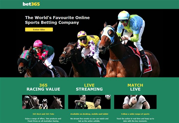 Bet365 Australia bookmaker review, betting guide & sign-up
