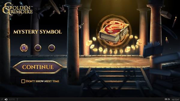 Golden Grimoire Mystery Symbol