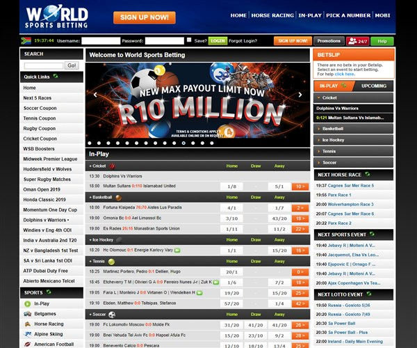 WSB Sports Betting Site Review & Promo Codes - Bets co za