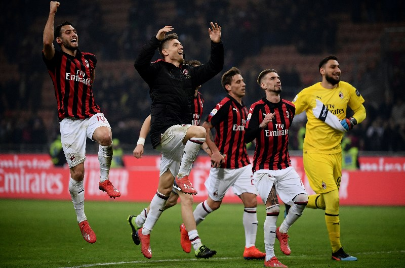 Image result for milan vs sassuolo photos
