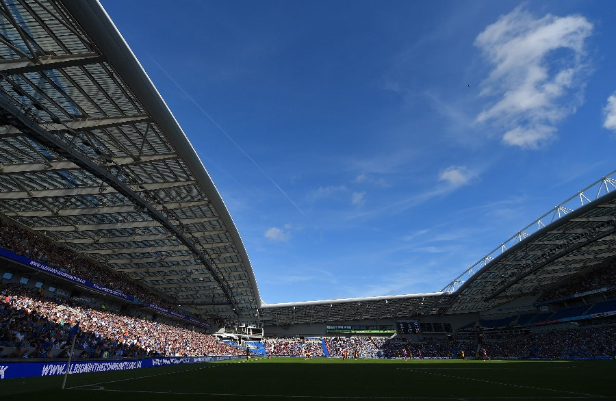 amex stadium view