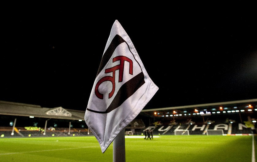 craven cottage view from flag