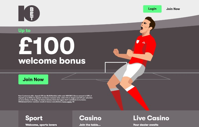 10bet Bonus Codes