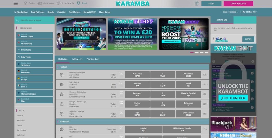 Karamba Bonus Codes