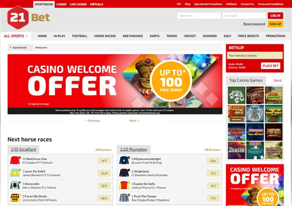 21Bet Bonus Codes