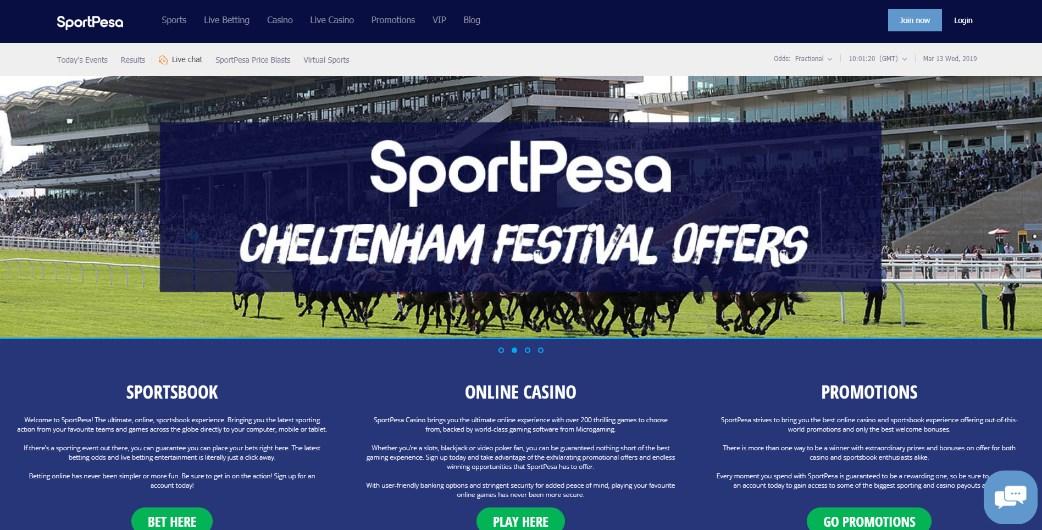 SportPesa Bonus Codes