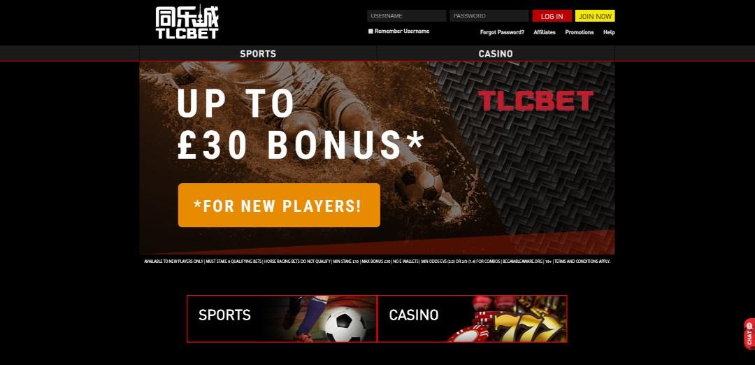 TLCBet Bonus Codes
