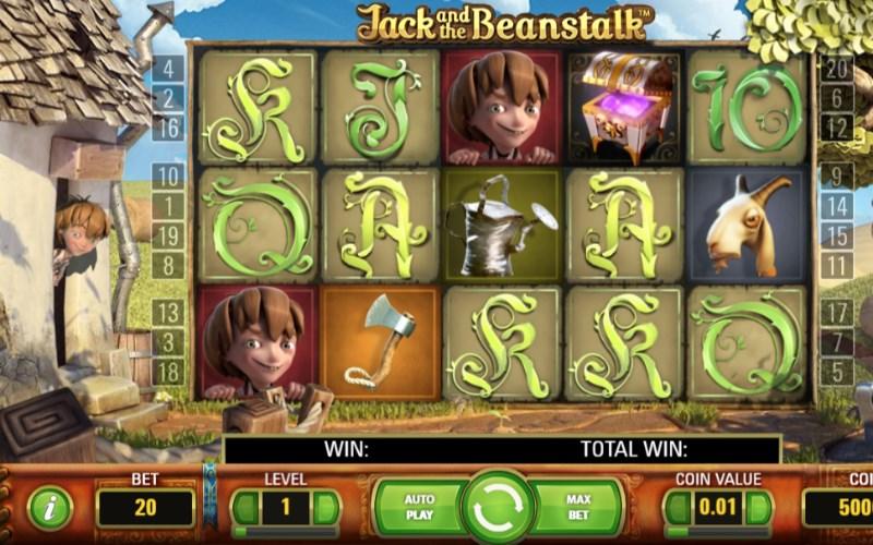 Jack The Beanstalk Slots Review Casinos No Deposit Bonus