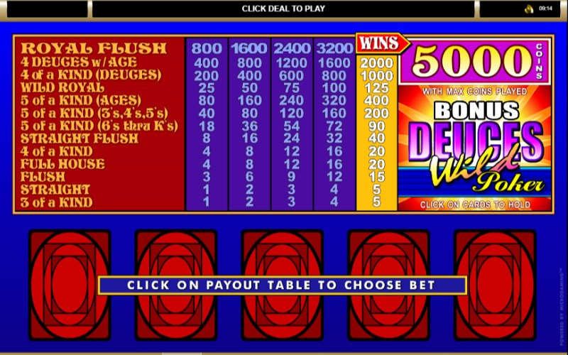 Casino deuces poker review wild restaurants at burswood casino