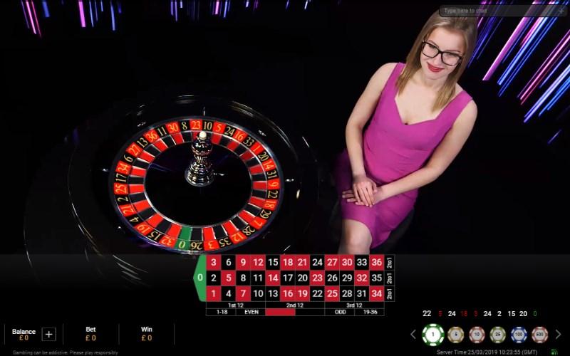 Prestige roulette game
