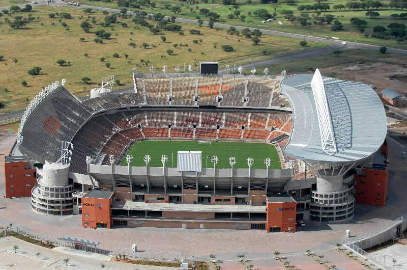 The Peter Mokaba Stadium baroka