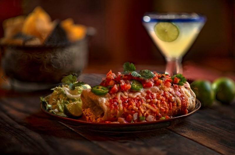 Silvertons Brunch Burrito