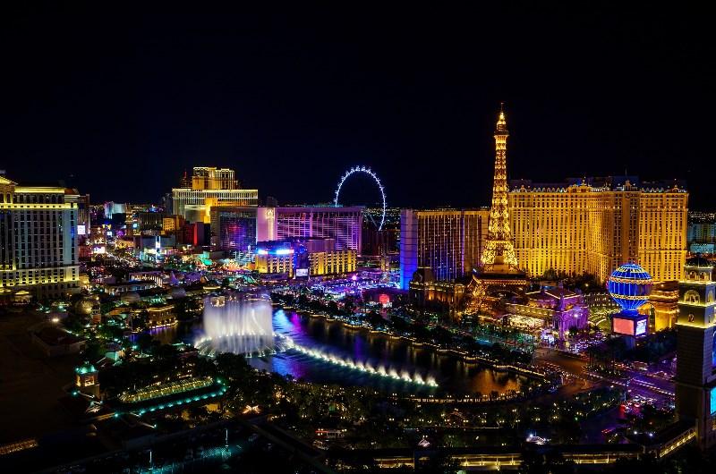 Sky View of Las Vegas