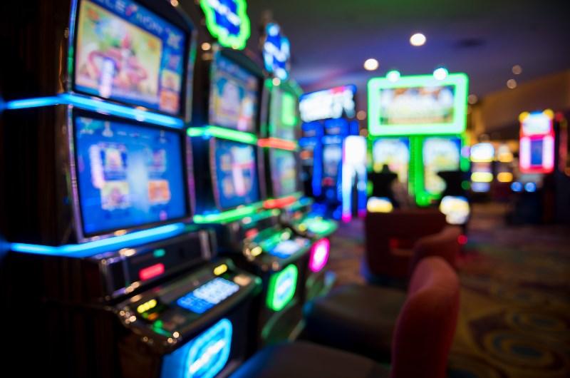 Slots Machines at Vegas