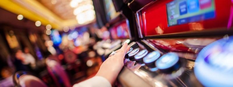 Video poker machine at the casino