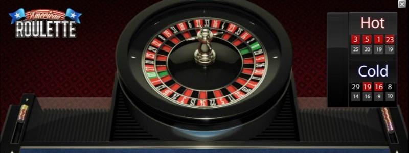 American Roulette Wheel NetEnt