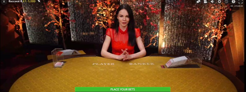 Evolution Live Dealer Baccarat