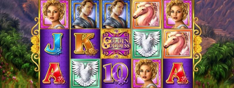 Golden Goddess Progressive Jackpot Slots