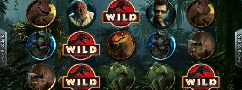 Jurassic park slots on microgaming software