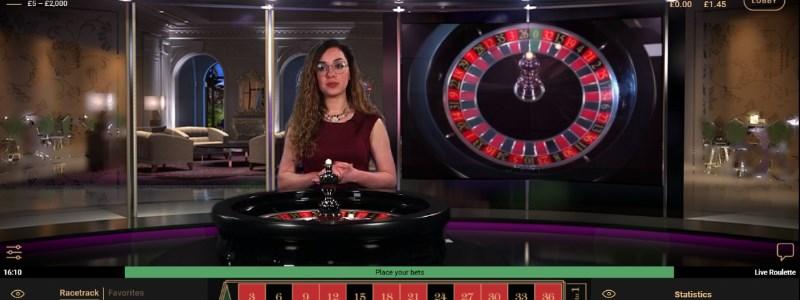 NetEnt live dealer roulette
