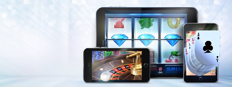 iPad casino devices with games