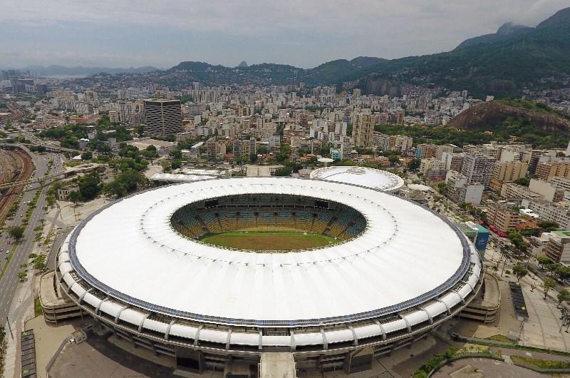 Estádio do Maracanã view