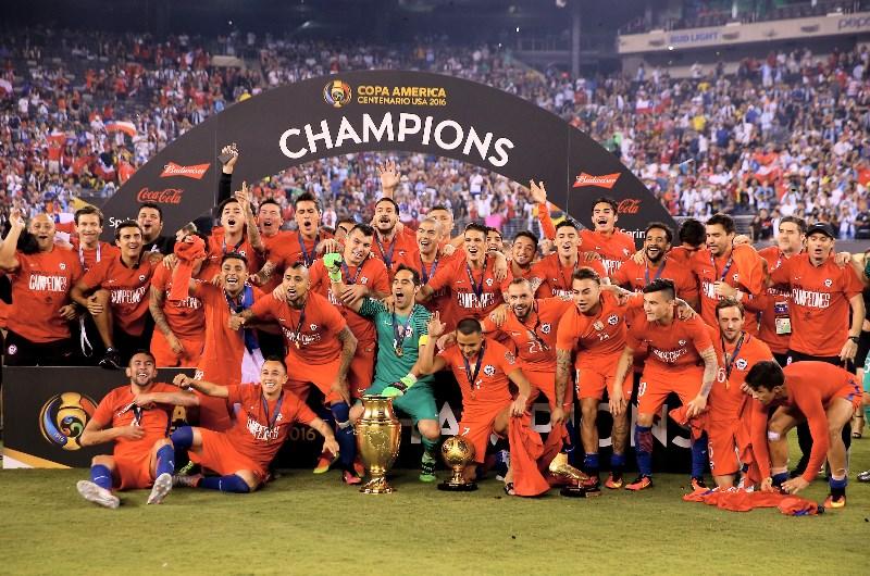 chile 2016 copa celebrate