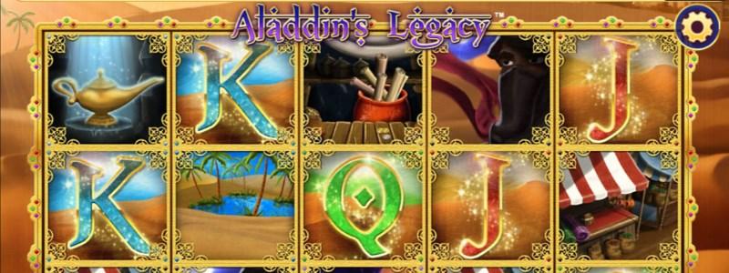Aladdin's Legacy Slots Amaya software