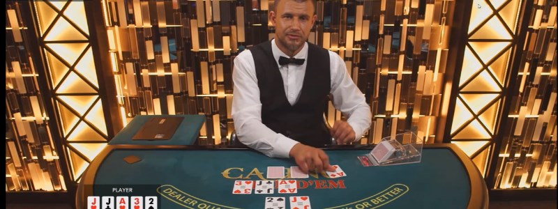 Live Poker Live Dealer Casino