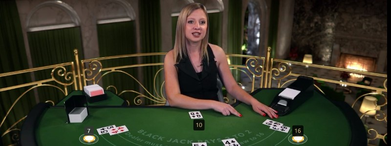 NetEnt live dealer blackjack game