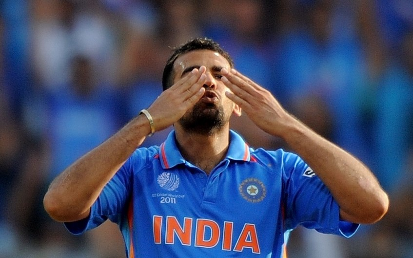 zaheer contributing to wc victory