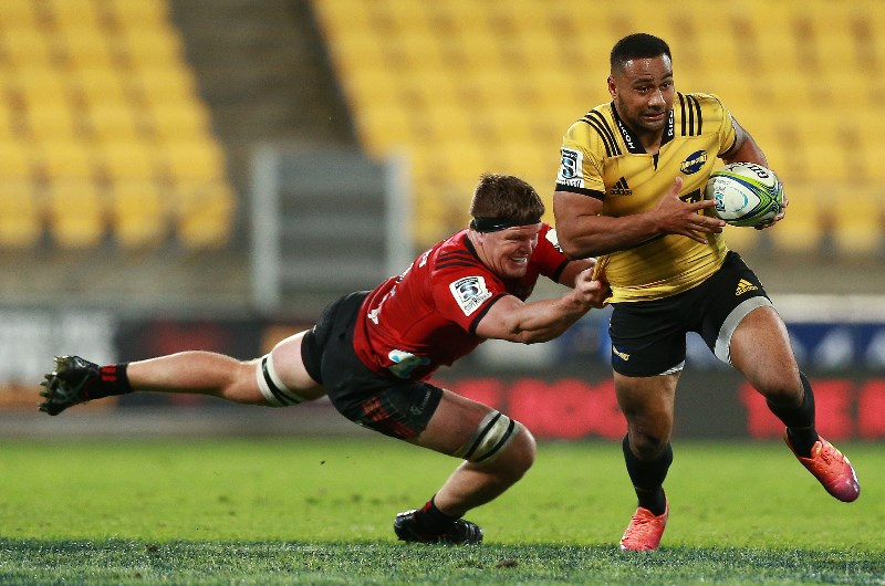 Ngani Laumape has been in sensational form for the Hurricanes throughout 2019. (Getty Images)