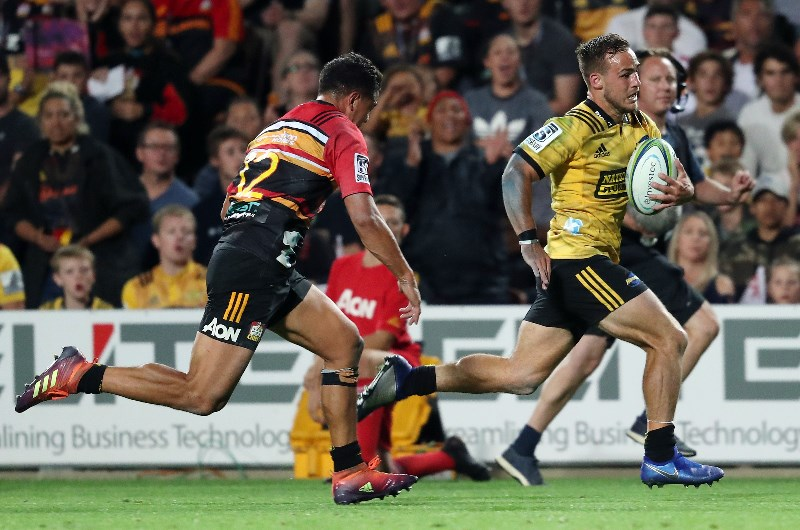 Wes Goosen has seven tries to his name in the 2019 Super Rugby season. (Getty Images)
