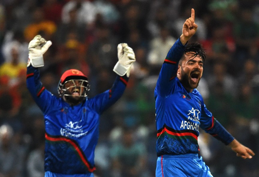 Rashid Khan afghanistan celebrate