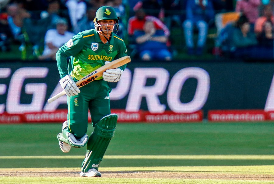 Quinton de Kock is tipped for top batsman at the 2019 Cricket World Cup. (Getty Images)