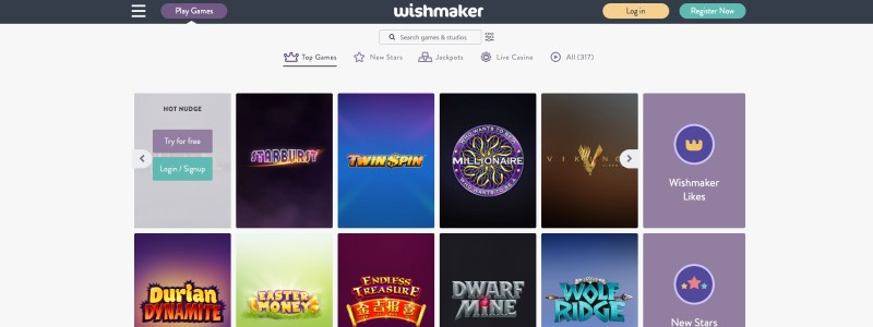 Wishmaker Casino Home