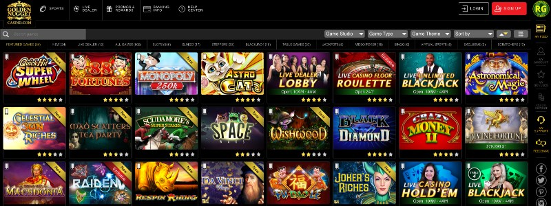 Golden Nugget Online Casino NJ Home