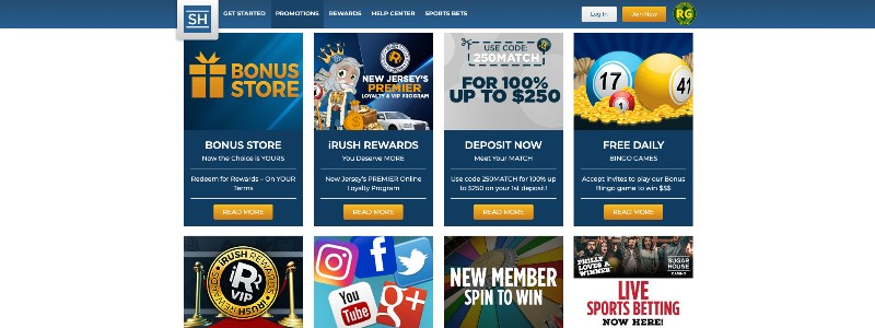 Sugarhouse Online Casino Home