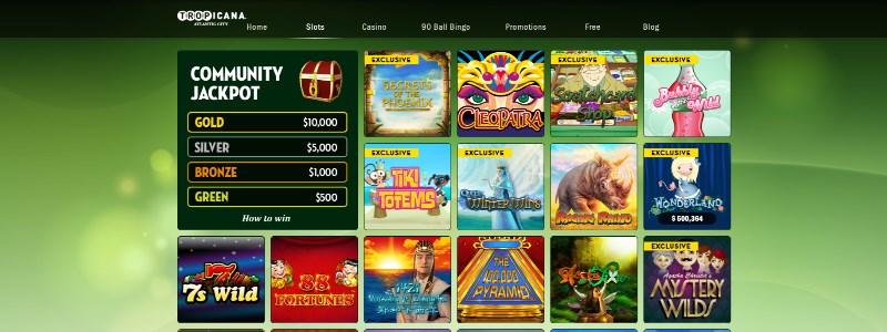 Tropicana Online Casino Home