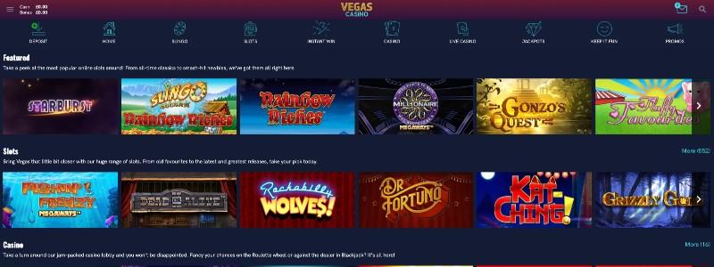 Vegas Casino Home