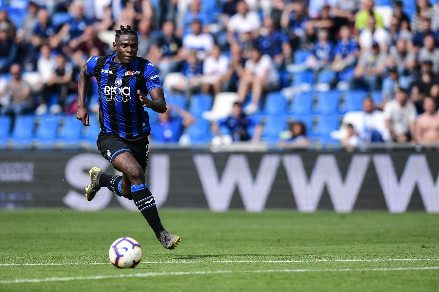 Duvan Zapata has been lethal in front of goal this season with 22 Serie A strikes. (Getty Images)