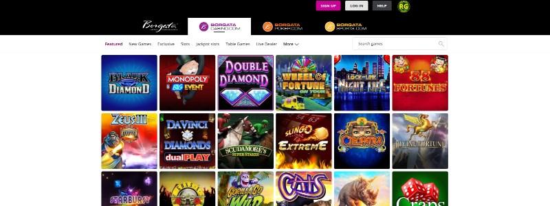 Borgata Online Casino Home