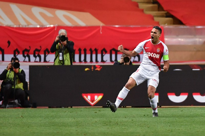 Radamel Falcao scored against Amiens and will aim for a repeat performance against Nice. (Getty Images)