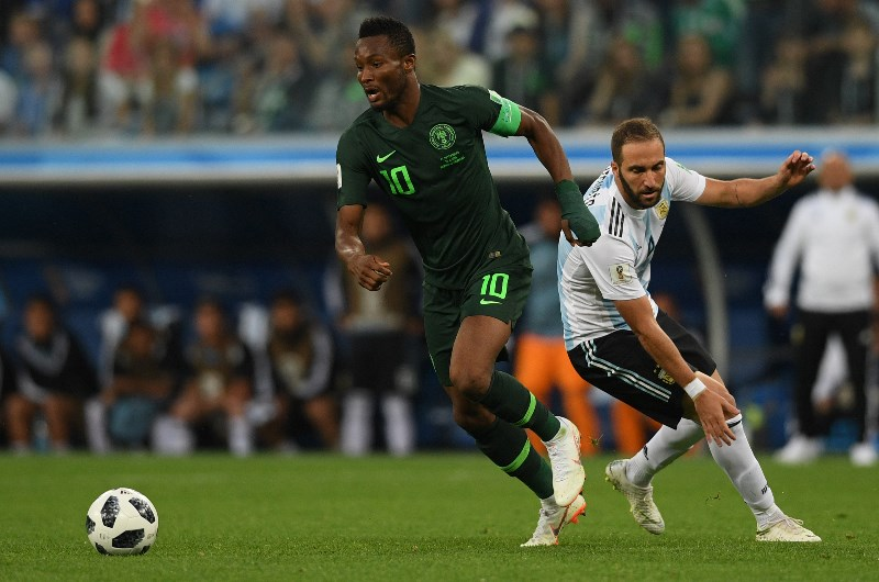 Midfield enforcer John Obi Mikel is one of the more familiar faces in Nigeria's ranks for the 2019 Africa Cup of Nations. (Getty Images)